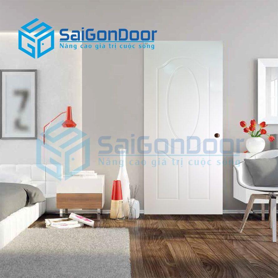 Cửa nhựa phòng ngủ cao cấp SYA.153-A05